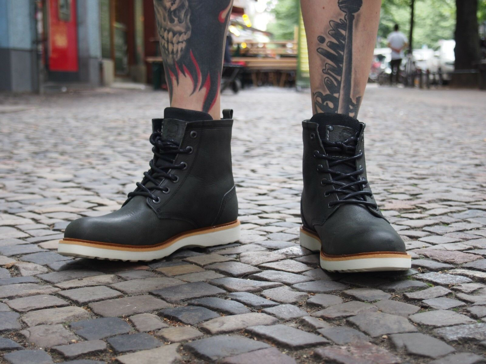 Bullboxer Schuh Stiefel 07 194 dunkelgrün Herrenschuhe Stiefel Schuh Echtleder Winterschuh NEU 0f331d