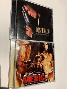 DESPERADO ONCE UPON A TIME IN MEXICO LOT SET OST CD MOVIE SOUNDTRACK AUTHENTIC