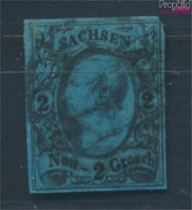 Sachsen-10-Pracht-gestempelt-1855-Koenig-Johann-I-8100624