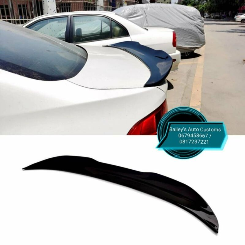 BMW F30 PSM Gloss Black Style Boot Spoiler