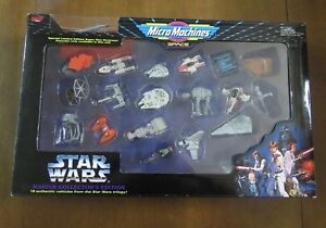 Star Wars Micro Machines Master Edition Collector Galoob Rare Nint Misprint