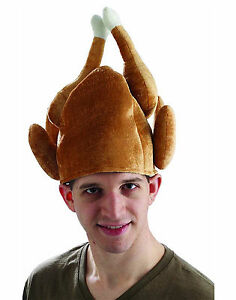 c71f59dfde4 Roasted Turkey Christmas Thanksgiving Funny Men Costume Hat for sale ...