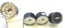Vintage Norgren 160 PSI Art Deco Steampunk Gauge Lot of 4 New