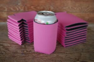 LOT of 25 WHITE Can Cooler Huggie Koozie BLANK Sublimation Weddings Birthday
