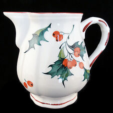 """HOLLY Villeroy & Boch CREAMER 3.5"""" tall NEW NEVER USED made in Luxembourg"""