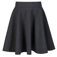 Girls Skater School Skirt Navy Grey Black School Skirt School Uniform Girls Skir