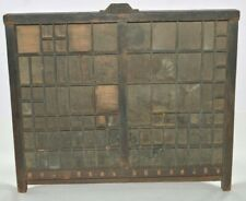 Antique Printers Letterpress Type Drawer Shadow Box Yankee Job Case Project