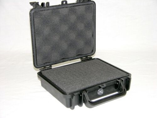 nameplate Black Armourcase 1060 Protective Plastic case with prescored foam
