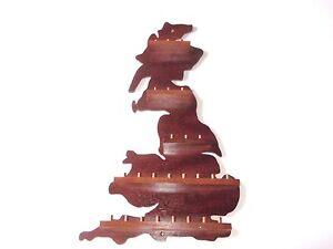 25pc-G-B-Wooden-Thimble-Display-Rack-Mahogany-huge-range-see-list
