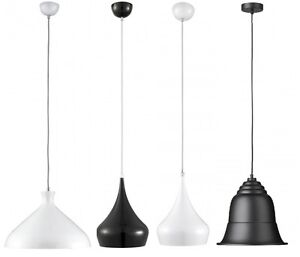 Searchlight pendant range white black glass adjustable ceiling image is loading searchlight pendant range white black glass adjustable ceiling aloadofball Gallery
