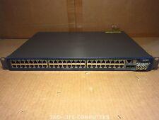 3COM 3CRS48G-48-91 4800G 48-Port GIGABIT 10/100/1000 Switch INCL 2X 3C1776 10G