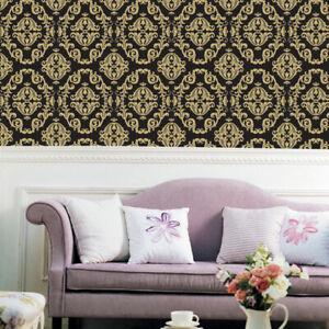 Damask-Contact-Wallpaper-DIY-Home-Decorating-Kitchen-Cabinet-Shelf-Liner-Paper