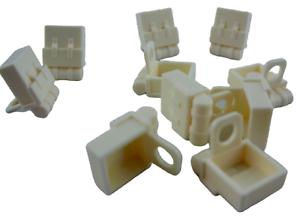 Lego-10-Stueck-Rucksack-weiss-fuer-Minifiguren-weisse-Rucksaecke-Tasche-Neu-2524