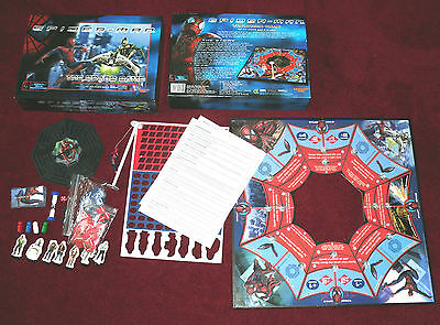 SPIDER-MAN THE BOARD GAME WITH REAL SWINGIN' SPIDER-MAN & 3D MAZE