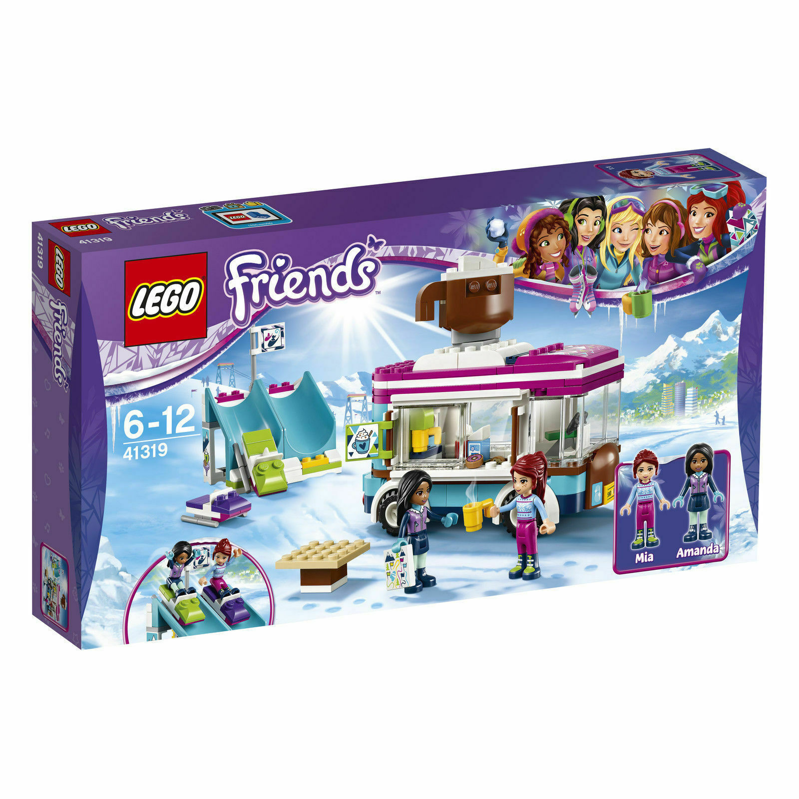 Lego Friends 41319 Kakaowagen de de de Hiver Rt - Neuf   Emballage D'Origine 47b910