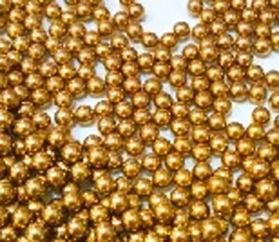 "Pack of 100 1//16/"" Inch Diameter G200 Loose Solid Bronze//Brass Bearings Balls"