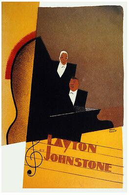 Piano Vintage Decoration Design Poster.Layton Johnstone.kitchen Home Decor 762i