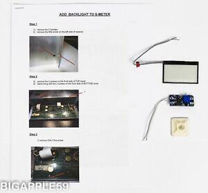 JRC NRD-91 NRD-92 NRD-93 Receiver S-Meter Backlight Mod Kit