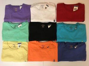 Nouveau-Polo-Ralph-Lauren-homme-a-encolure-ras-du-cou-classique-Fit-T-shirt-Tee-S-M-L-XL-XXL