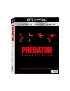 Predator: 4-Movie Collection [New 4K UHD Blu-ray] Digital Copy, Dolby, Subtitl