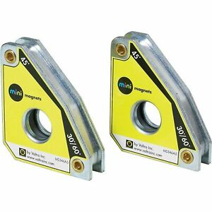Strong Hand Tools Max Twin Pack Mini Magnetic Fabrication Squares, Pull ...