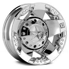 17 Inch Wheels Rims Dodge RAM Chevy 3500 Ford F350 Dually Chrome XD Rockstar 4