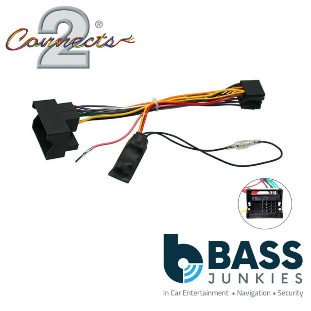 Connects2 CTHUE-VX1 Stereo Wiring ISO Adaptor & Ignition Generator for Vauxhall