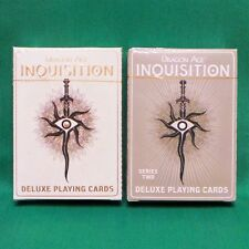 Dragon Age: Inquisition Deluxe Playing Cards Series 1 & 2 Tarot Style Poker Deck