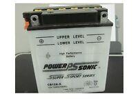 Battery For Kawasaki Kz550,ltd,gp Yrs 80-83 550cc 12v 12ah /acid Pack/sensor