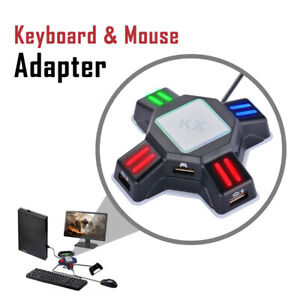 Keyboard And Mouse Adapter For Nintendo Switch Xbox One Ps4 Ps3 Fps Tps Ac2026 4894707276877 Ebay