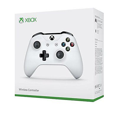 Microsoft Xbox One S Wireless Original Controller (2016 Edition) Weiß / Schwarz