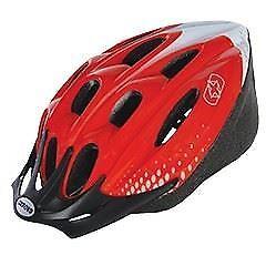 Oxford F15 Bicicletta Ciclismo Casco Rosso/bianco Medio 53-57cm-mostra Il Titolo Originale