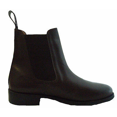 Toggi Ottowa Leather Jodhpur Boots Adults + Child's Brown and Black Size 13 - 11
