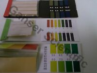Complete Set Of Ph/litmus Papers: Broad 1-14, Precision: 3.8-10