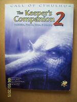 THE KEEPER'S COMPANION, VOL 2 - CHAOSIUM#2395 - CALL OF CTHULHU / H P LOVECRAFT