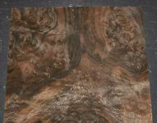 Walnut Burl Raw Wood Veneer Sheet 11 X 15 Inches 142nd Thick 7630 37