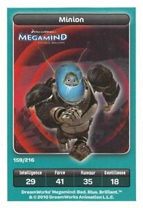 Card-Carrefour-Dreamworks-Megamind-Minion-No-159