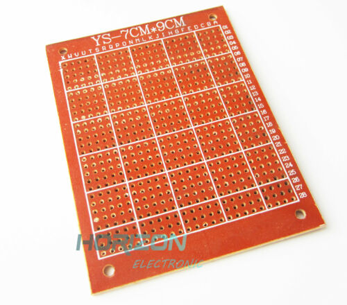 20pcs 7x9cm DIY Breadboard Universal Printed Circuit Panel Board Prototype PCB