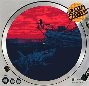 Jaws-Killer-Shark-2-Horror-Slipmat-Turntable-12-034-Record-Player-DJ-Audiophile