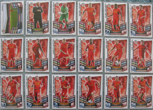 Match Attax TCG Choose One 2012//2013 Premier League Liverpool Card from List