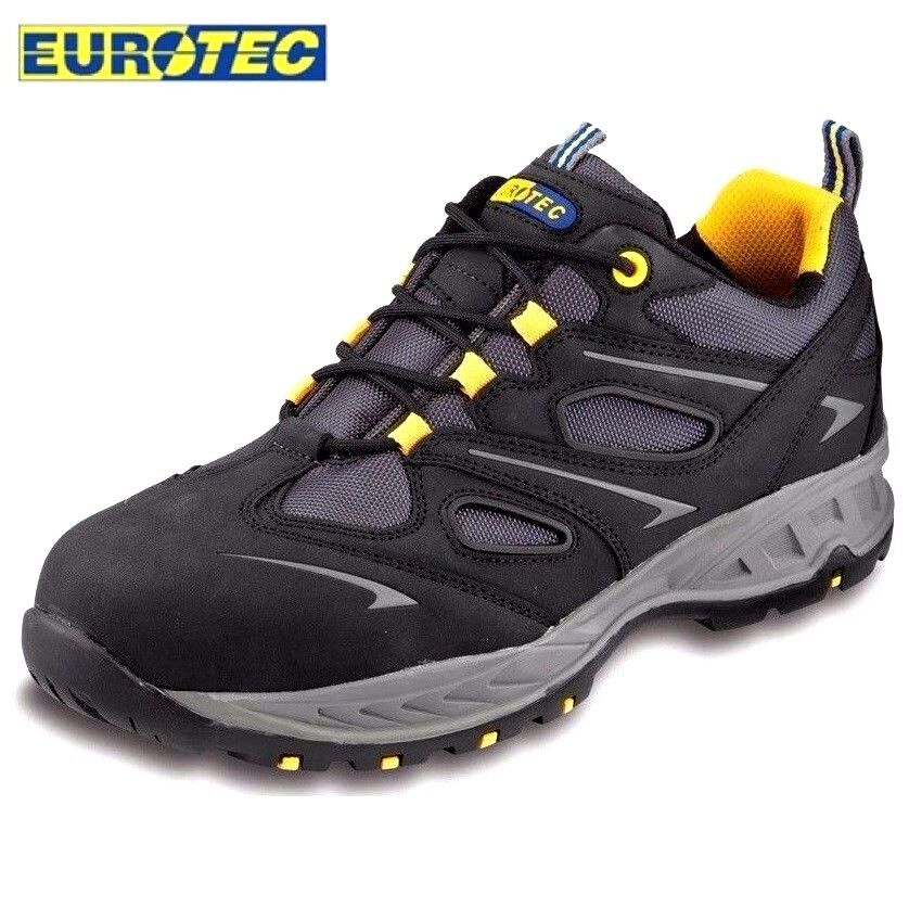 Mens S3 Waterproof Leather Safety Work Trainers Composite Toe Cap Boots shoes Sz