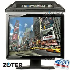 "ZOTER 15"" inch HDMI BNC VGA LCD Color Monitor for DVR CCTV Security Video Camera"