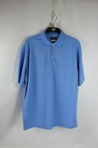 84094886 Nike Golf 363807 Men's Dri-Fit Micro Pique Polo Shirt, Powder Blue ...