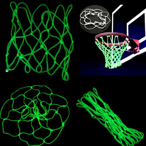 Glow In The Dark Basketballs Hoop Net Luminous Shoots Trainings Sports Kid Gifts
