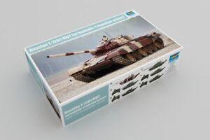 Trumpeter 09555 1:35 Kit de modèle d'armure réactive T-72b1 Mbt W / Kontakt-1 russe 689738910937
