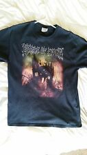 Cradle of Filth Cemetery and Sundown L Large Black T-Shirt