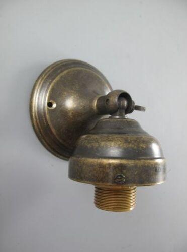 o.Schirm Vintage Jugendstil Geschenk Wand Leuchte brün Decken Lampenhalter Mes