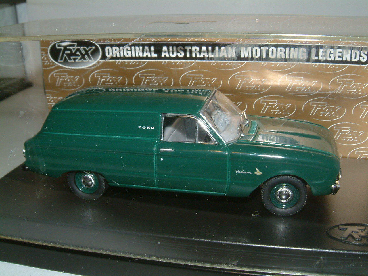1 43 TRAX 1962 FORD XL FALCON PANEL VAN IN Grün . AUSTRALIA TG