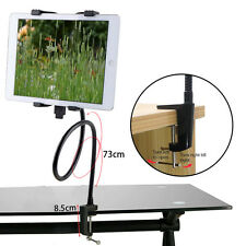 Black Gooseneck 360 Lazy Bed Desk Stand Holder Mount-iPad 2 3 4 Air Mini Tablet