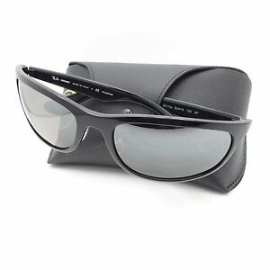 01680792aa Ray Ban 4265 601 5J Black Silver Fade Mirror Polar New Authentic ...